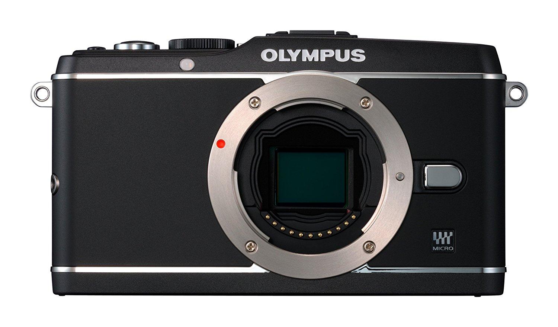 Máy ảnh kỹ thuật số  Olympus tiếng E-P3 gọn camera (chỉ thân máy bay) - Black.