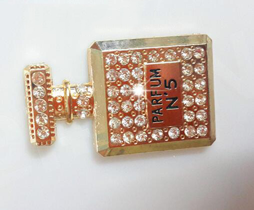 Phụ kiện thời trang kim loại đính kim cương
