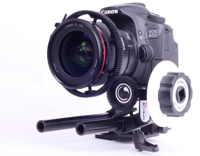 Máy ảnh kỹ thuật số   D   tập trung hệ thống khởi 301 bó tập (đen)