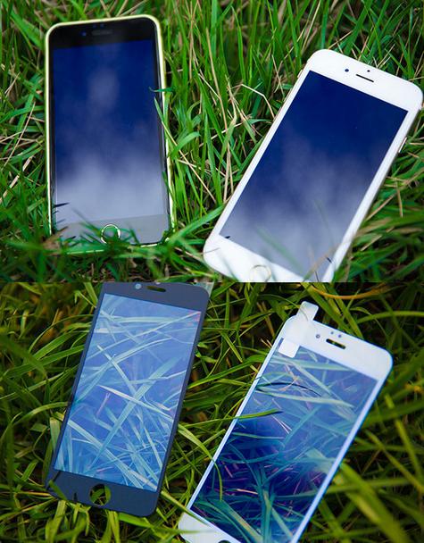 Miếng dán màn hình Iphone 6  Iphone7 tempered film Apple 7 full-screen anti-blue iphone6 mobile pho