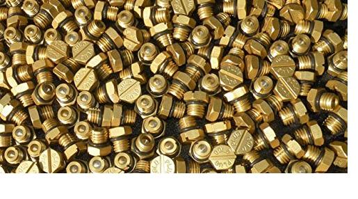 Gold Plug 8200 Billet Air Bleeder Screw for 2001-2016 GM Duramax Fuel Filter Housing