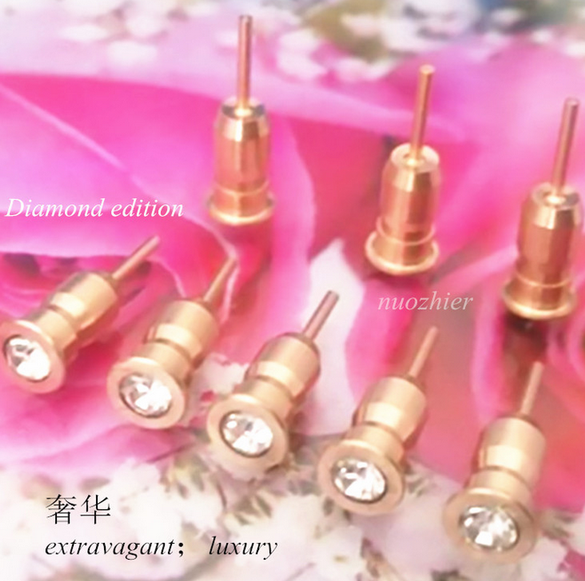 Nút cắm chống bụi  IPhon6Smini diamond dust plug plug diamond dust plug SD card water drill needle