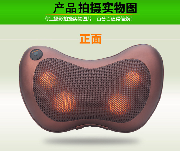 Máy massage   Genuine car Home Furnishing neck and shoulder massage pillow waist leg massager Massa