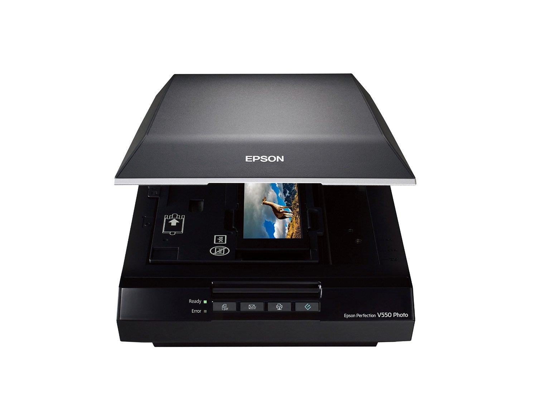 Máy scan   Epson Epson V550 máy quét ảnh hoàn hảo, sử dụng công nghệ ReadyScan dẫn