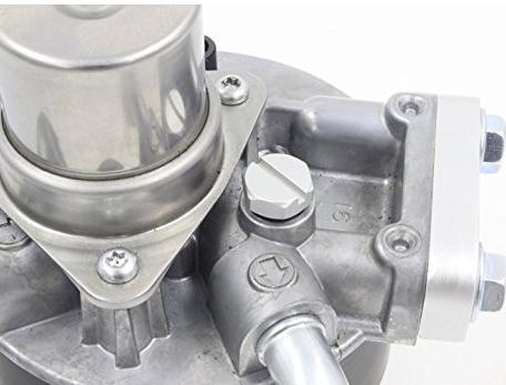 Ốc vít  Lelecar Air Bleeder Screw for GM 2001-2016 Duramax Diesel Fuel Filter-Aluminum (Silver)