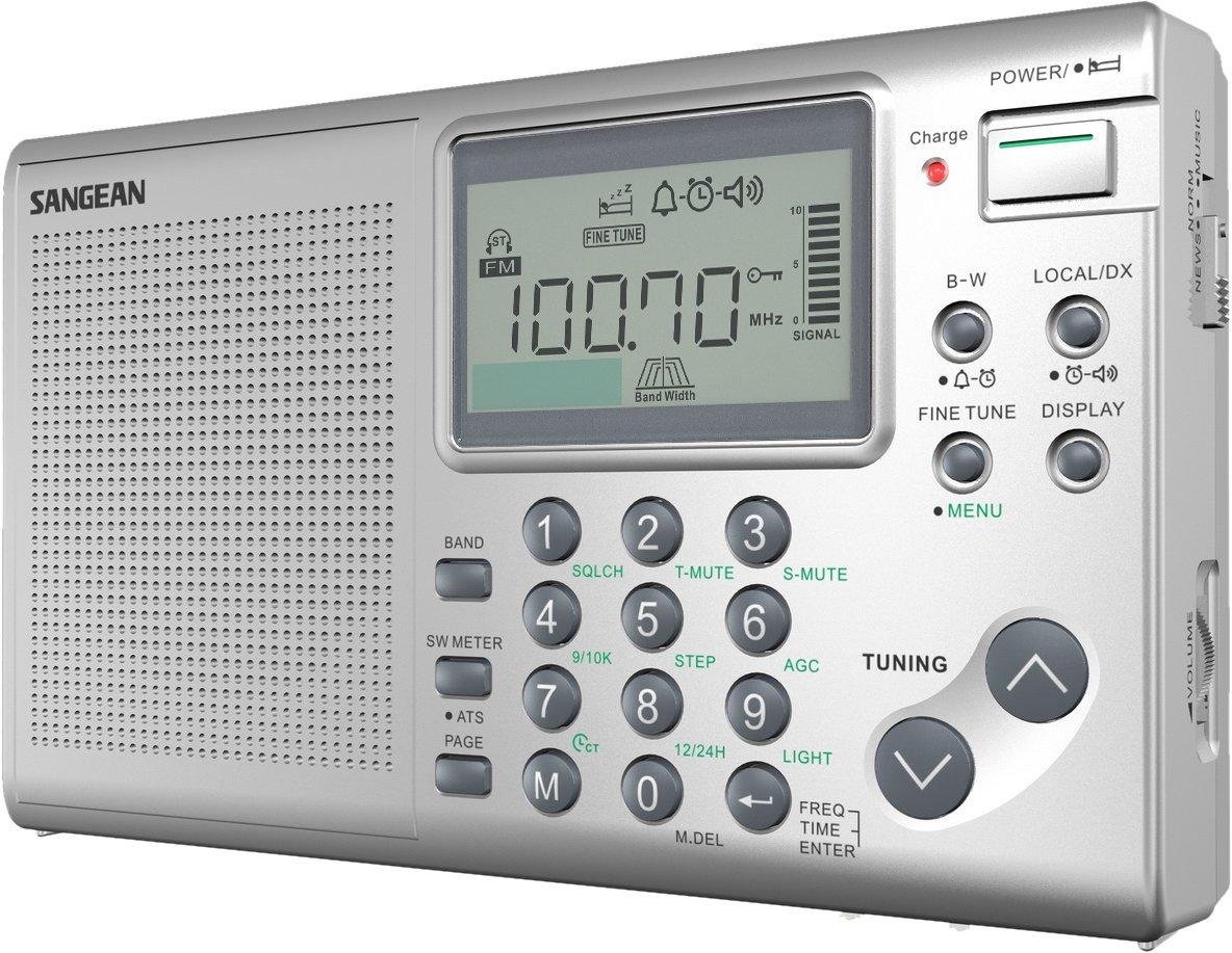 Núi vào ats-405 stereo FM / AM / thế giới thu băng tần sóng ngắn