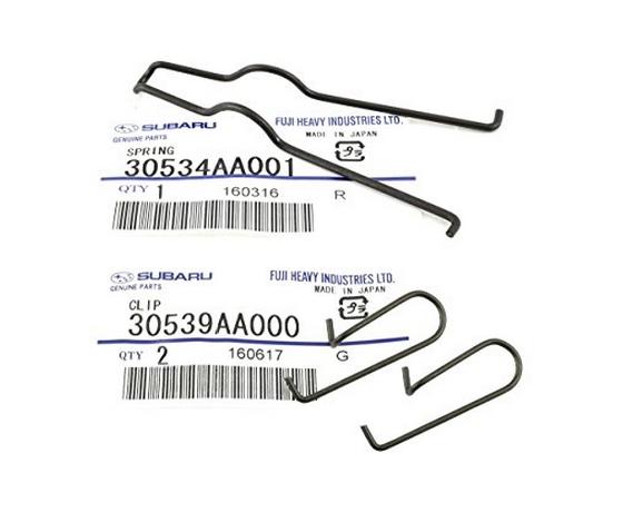Lò xo  90-17 Subaru Clutch Fork Spring & Clip Set OEM NEW 30534AA001 & 30539AA000 (2)
