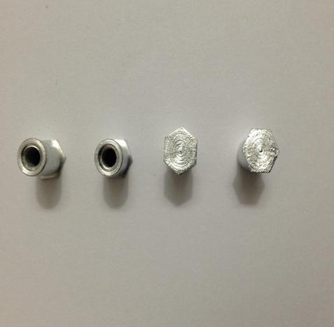 Tán  Galvanized hexagonal M3M4 pressure rivet nut stud factory direct wholesale