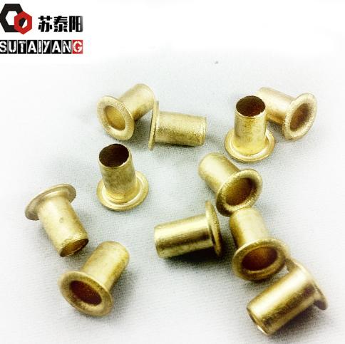 Copper Hollow Rivet GB876 Copper Chicken Rivet Through Hole / Hollow Copper Rivet M4 M5 M6