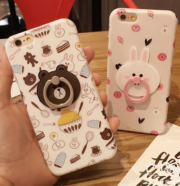 Ốp lưng Iphone 6   Explosive creative cartoon bracket for mobile phone shell Apple 6s iPhone6 plus