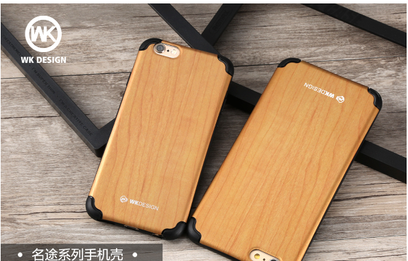 REMAX/ core WK new Apple 7 mobile phone shell iphone6/6s plus creative solid wood protective cover