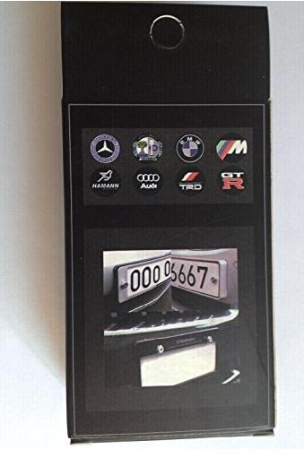 Ốc vít   4 Pcs Separate Chrome LICENSE PLATE FRAME Bolt Screws For Honda New