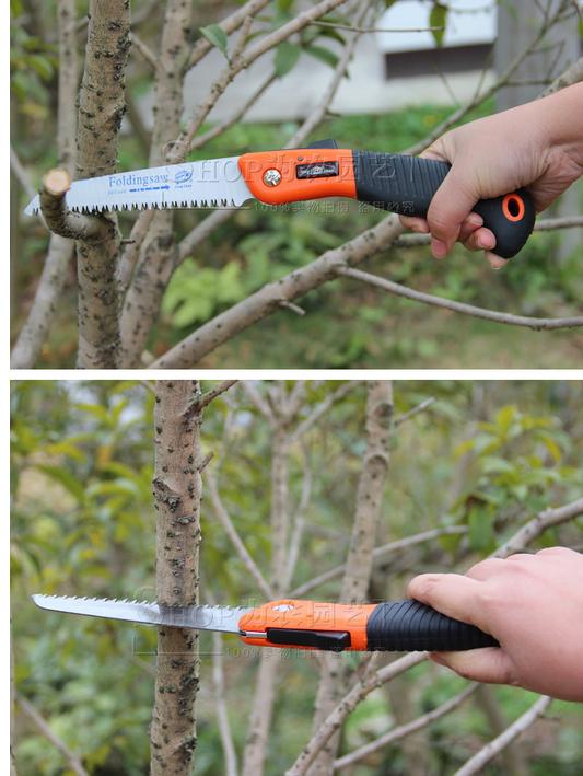 Garden folding hand saws gardening pruning saw fruit saws gardening tools