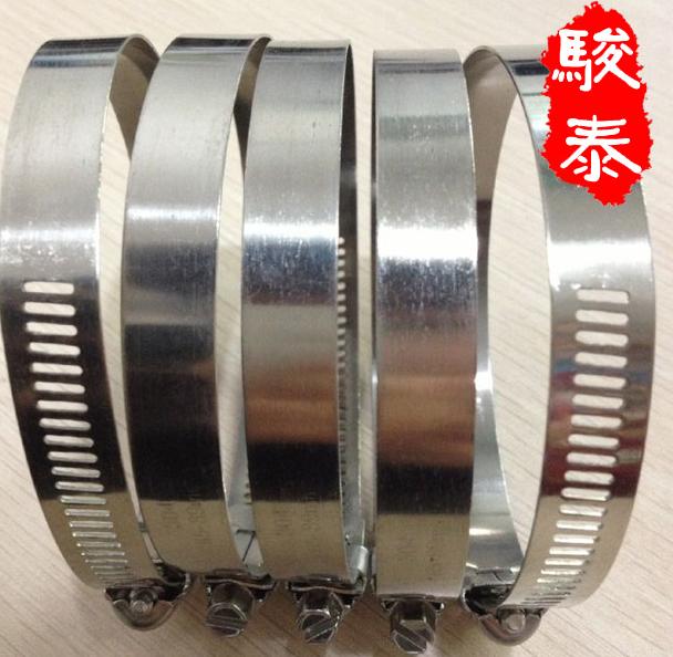 304 stainless steel clamp stainless steel powerful hose clamp wire card hoop tube tube tube hoop pip