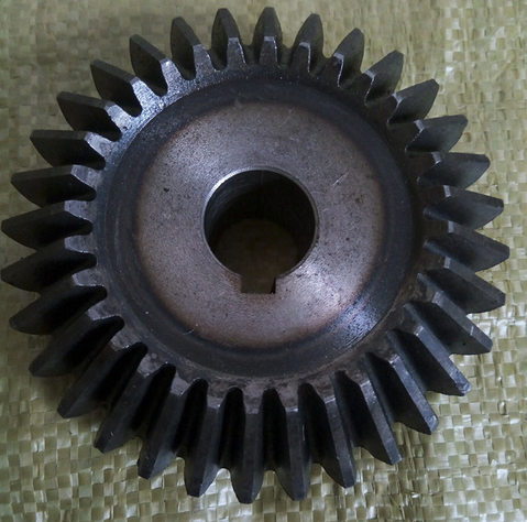 Bánh răng  Factory direct sales heavy machinery special bevel gear construction machinery for wear