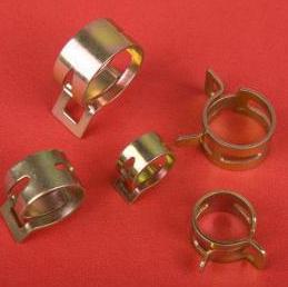 Đai kẹp(đai ôm)  Steel-type elastic hoop hoop clamp throat hoop water pipe clamp hose clamp Q673B fa