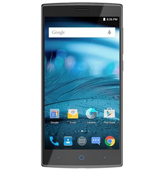 Smartphone ZTE Zmax 2 điện thoại di động Unlocked màn hình HD 5.5 inch