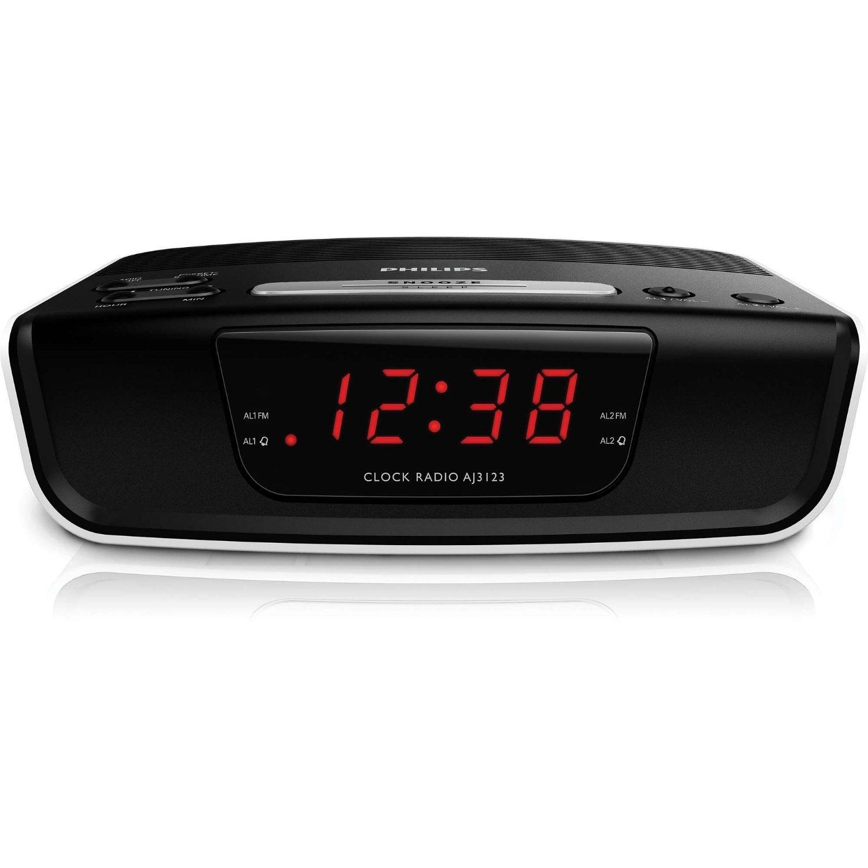 Philips AJ3123 FM radio FM (châu Âu 110-240V con số báo động đường dây điện)