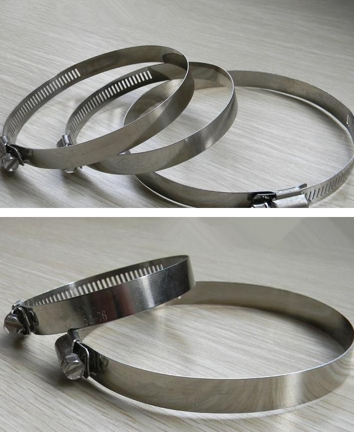 Đai kẹp(đai ôm)  【Factory direct supply】 Supply stainless steel American German steel hose clamp, cl