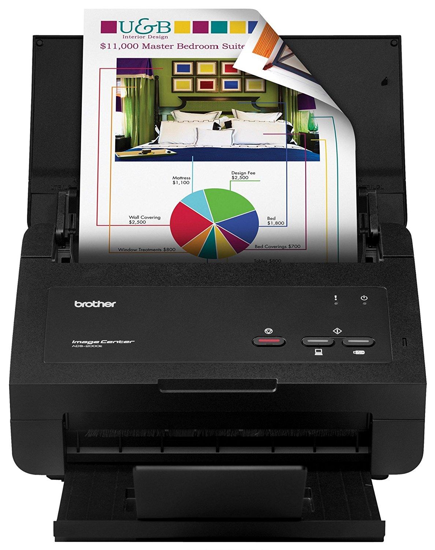 Máy in  Anh máy quét tài liệu tốc độ cao (imagecenter ads-2000e)