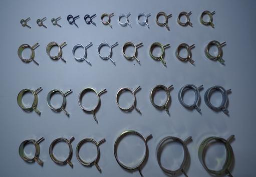 Tuỳ chỉnh kim loại kim loại kẹp ống ống kẹp ống kim loại chất lượng môi trường kẹp kẹp ống
