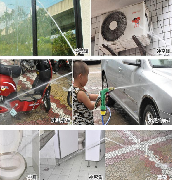 Dụng cụ rửa xe   Nhà máy công cụ rửa trực tiếp áp suất cao súng nước hộ gia đình rửa đồng súng đầu