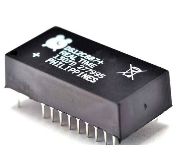 IC tích hợp DS12C887 / DS12C887 + đồng hồ lịch mới ban con chip tích hợp xác thực, một chiếc đồng hồ