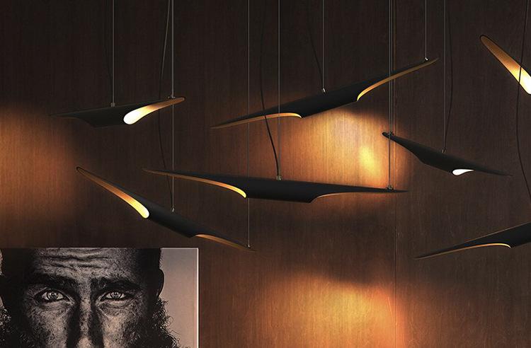 Đèn LED sáng tạo đầu cổ điển Mỹ ăn khách sạn quầy cửa hàng cà phê đèn chùm đèn treo quần áo