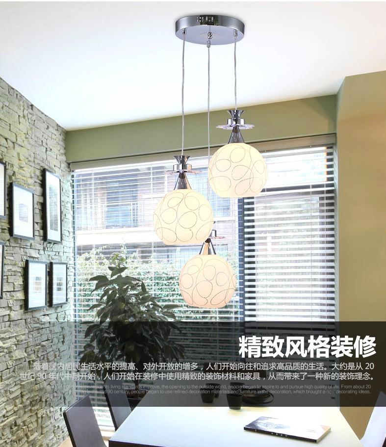 3D hiện đại đơn giản. Bữa ăn sáng tạo công nghệ LED đèn phòng ngủ, phòng ăn nhà hàng quầy bar Omicro