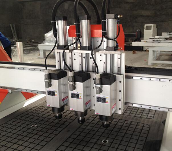 Máy công cụ  Three working procedures of woodworking engraving machine woodworking engraving machin