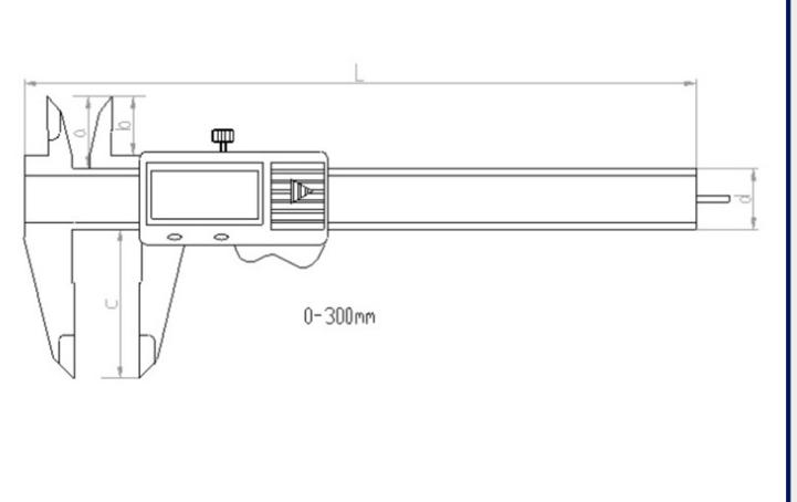 Digital Caliper thép không gỉ đo calipers 0-150mm nhà máy cân điện tử chất lượng cao trực tiếp