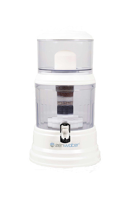 Nước lọc của hệ thống Zen Mesa và hệ thống lọc lít gạo trắng.