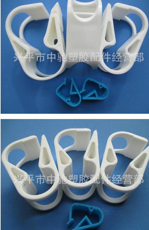 Ống cung cấp trực tiếp kẹp 12-18mm kẹp niêm phong nhựa chống ăn mòn ống nhựa kẹp