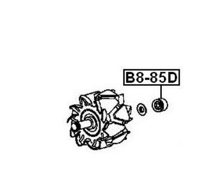 Bạc đạn  FEBEST B8-85D Vòng bi