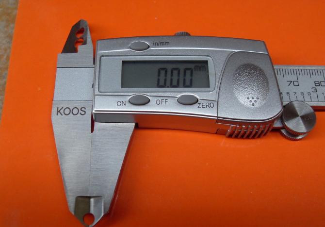 Đo phi tiêu chuẩn, công cụ đo lường đặc biệt, calipers kỹ thuật số điện tử, Bảng caliper micromet, v