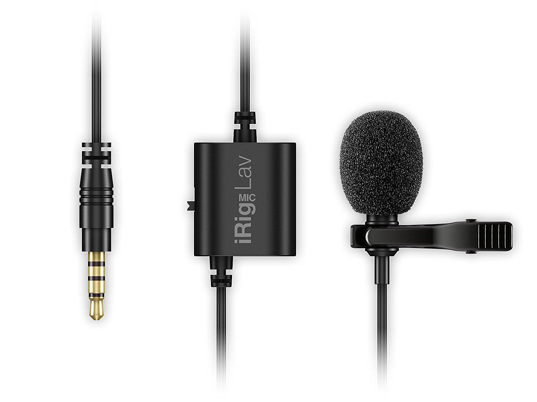 Micro   IK IRIG đa phương tiện MIC LAV 2 gói mini dẫn điện thoại điện dung clip micro (Amazon nhập