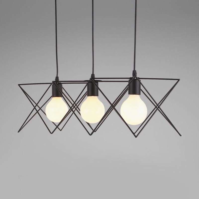 Bữa ăn sáng tạo cá tính LED hút đèn chùm đèn hướng dẫn phòng ngủ, phòng ăn nhà hàng đầu đèn hiện đại