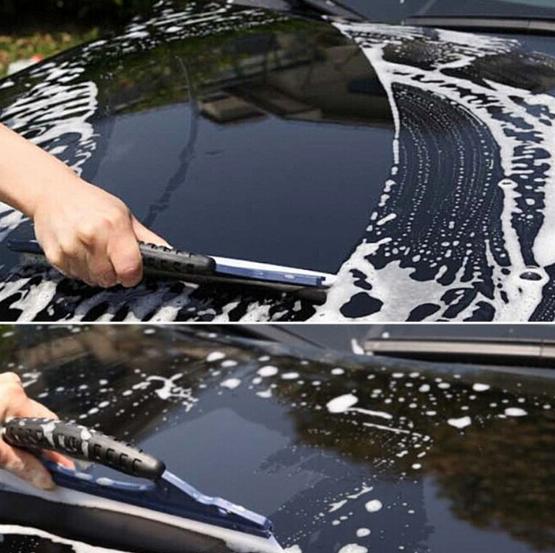 Công cụ rửa ô tô kính gạt nước gạt nước lưỡi gạt nước bàn chải xe silica tấm gel làm sạch nguồn cung