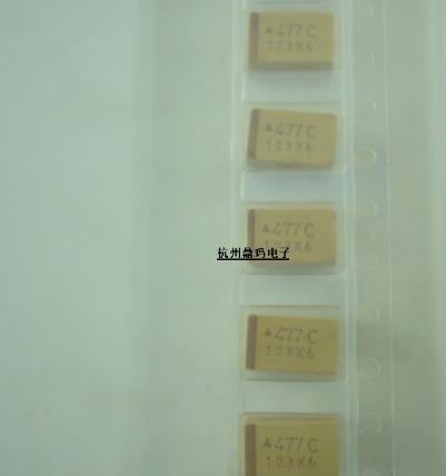 Tụ Ceramic   Tụ điện tantali 477 470uF E-type vá tạo