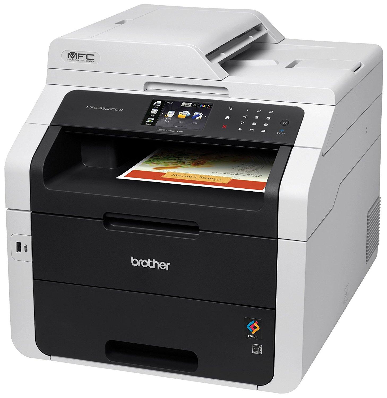 Anh mfc9330cdw radio đều ở một máy in màu với Scanner, máy photocopy và máy fax