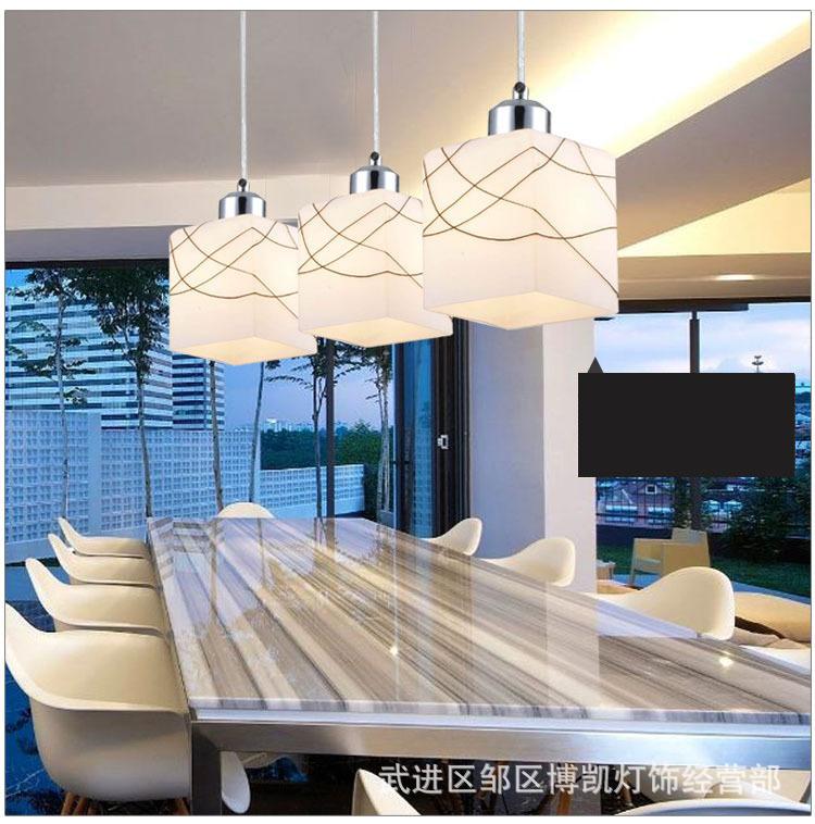 Các nhà sản xuất châu Âu LED hiện đại đơn giản. Bữa ăn sáng tạo cá tính thời trang các đèn chùm đèn