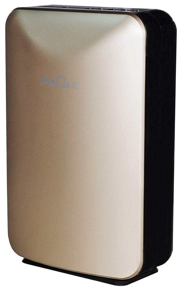Climateright iairq600c Portable trong nhà máy lọc không khí dùng HEPA carbon và tia cực tím, 600 mét