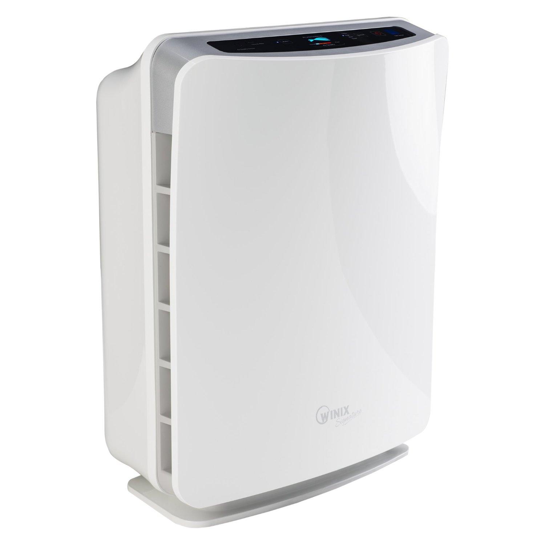 Winix U300 HEPA máy lọc không khí thực sự với AOC rửa bộ lọc carbon, 30 mét vuông, White.