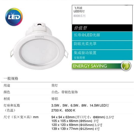 Đèn trần bộ HOMEKIT  Philips đèn led nhấp nháy II 2,5 inch / 3-inch /3.5 inch / 4 inch LED xuống bán