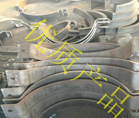 Ống kẹp  Bán buôn tham khảo A5-1 ống kép kẹp tia tấm arcuate A13 ống kép kẹp tia