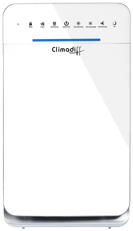 Climadiff airpur55 máy lọc không khí thông gió và hệ thống lọc