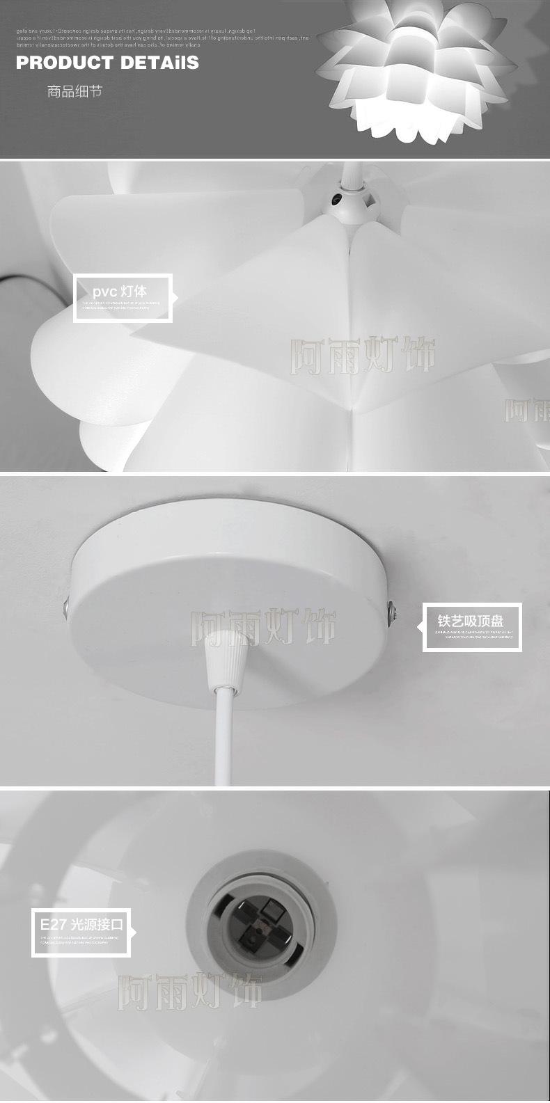 Tính cách đèn chùm đèn phòng trẻ em phòng ngủ chút ống nhựa ko đơn giản. Nhà hàng quầy hàng của đèn