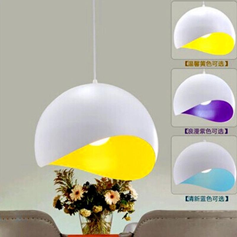 Đèn LED hiện đại đơn giản. Phòng khách nhà hàng quán ăn cá tính sáng tạo đèn chùm đèn chùm đèn tròn