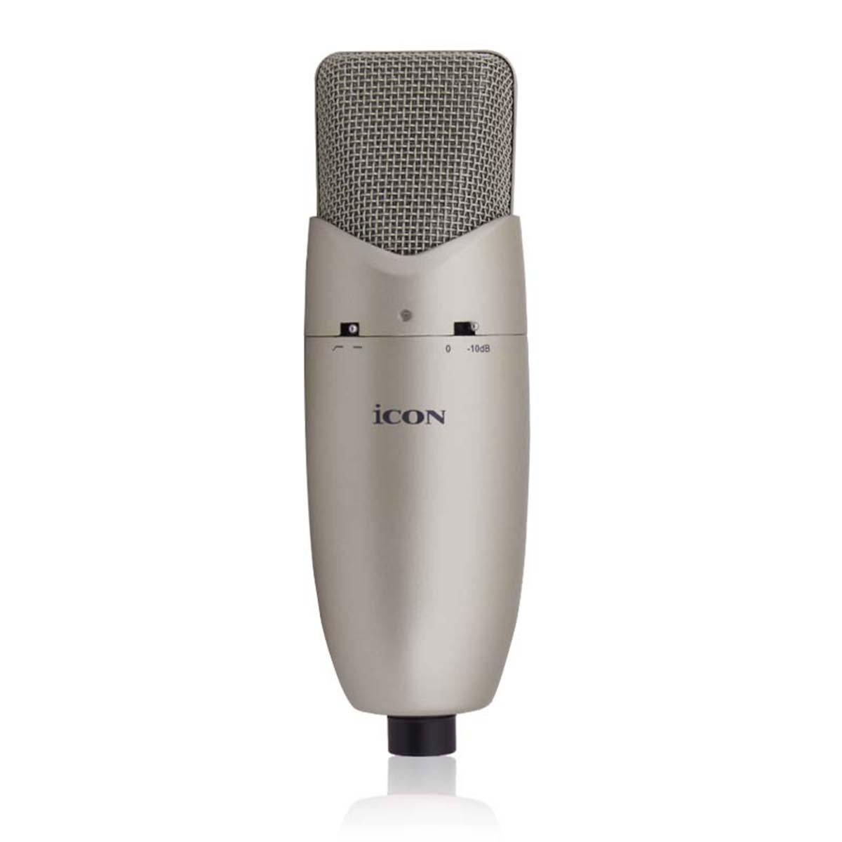 Micro  Aiken m3 microphone loa màng 3 loại tụ K thu về bạc