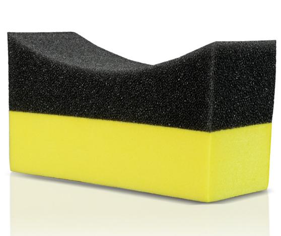 PE tổng hợp xốp waxing công cụ xốp góc hồ quang của sự lựa chọn cho tẩy lông chà chà giá góc